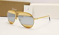 Солнцезащитные очки Dior Split золото, фото 1