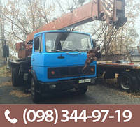"""Аренда автокрана 10-16 тонн, услуги в Днепропетровске - """"Жуковин С.Б."""""""