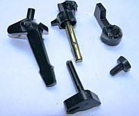 Комплект пластмасовых рычагов карбюратора (5 шт.) для мотоблока 168F