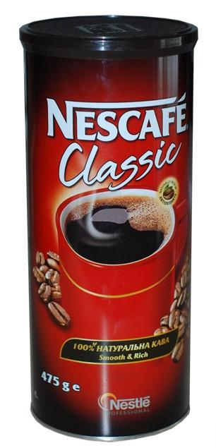 Растворимый кофе Nescafe ж/б 475 гр (12 шт)