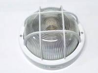 Светильник НПП2602  белый/круг с решеткой пластик 60Вт IP54 ИЭК