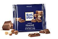 Шоколад Ritter Sport NUGAT ( НУГА , ПРАЛИНЕ) Германия 100г, фото 1