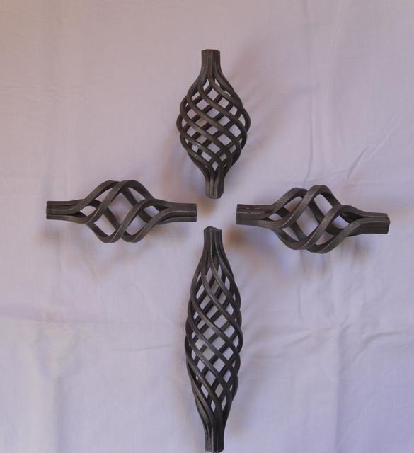 Корзинки кованые металлические