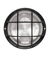 Светильник НПП2602 черный/круг с решеткой пластик 60Вт IP54 ИЭК