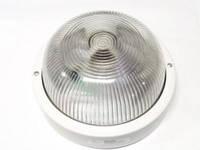 Светильник НПП2602А  белый/круг без решетки пластик 60Вт IP54ИЭК