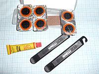 Набор КЛЕЕВЫХ заплаток Spelli SBT-129А + лопатки