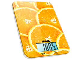 Весы кухонные 5кг. Magio MG-296 апельсин