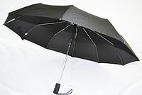 Мужской зонт полуавтомат черный
