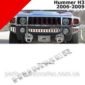Hummer H3 2006-10 значок эмблема на передний бампер Новая