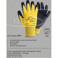 Защитная перчатка с покрытием Friedrich Muench NIRO S PLUS 3001