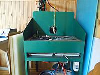 Машина для нанесения латексного клея под давлением