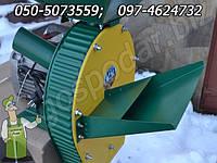 Соломорезка комбинированная зернодробилка  повышенной производительности 2.5 кВт