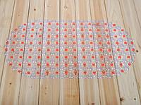 Коврик силиконовый на присосках ( оранжевый)