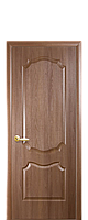 Двері Фортіс МДФ/ПВХ Вензель глухі 70 золота вільха
