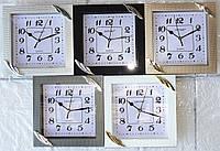 Часы настенные GOTIME GT-2204tm с плавным ходом 22x22см