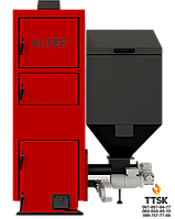 Котел на пеллетах с автоматической подачей топлива Альтеп Duo Pellet N (КТ-2ЕSHN) мощностью 250 кВт