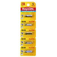 Батарейки RAYMAX 27A 12V blister card/5pcs (5шт.)