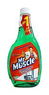 Средство для мытья стекол Мистер Мускул Профессионал с нашатырным спиртом Запаска - 500 мл.