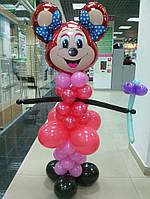 Минни Маус из воздушных шариков