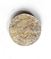 Войлочный круг на липучке тонкошерстный 150
