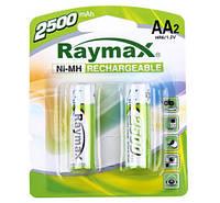 Батарейки RAYMAX HR6 1.2V 2500mAh Ni-MH AA blister card/2pcs (2шт.)