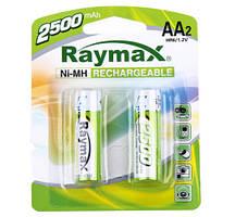 Батарейки RAYMAX HR6 1.2 V 2500mAh Ni-MH AA blister card/2pcs (2шт.)
