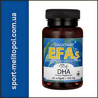 Swanson EcOmega DHA Fish Oil 60 softgels