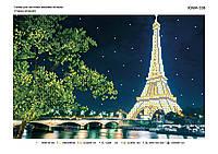 """Схема для вышивки бисером """"Вечерний Париж"""""""