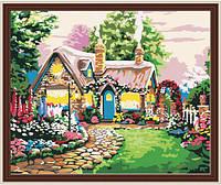 "Картина по номерам 60х80см., ""Сказочный домик"", MQ022, фото 1"