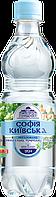 Вода минеральная София Киевская ПЭТ бутылка 0,5 л, без газа (12 шт.)