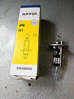 Лампа автомобильная Газель, Соболь, Волга, 3302,2705,2217 дальний свет Н1 12V 55W NARVA