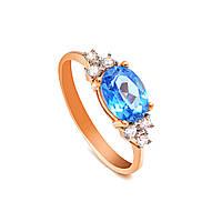 Золотое кольцо со шпинелем
