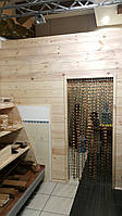 Стеновая панель из сосны 40*135-185*3000 мм