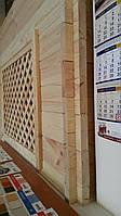 Деревянная стеновая панель из сосны 40-60*135-180*3000-4000