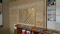 Стеновая панель из сосны 40*135-185*4000 мм