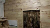 Стеновая панель из сосны 60*135-185*3000 мм