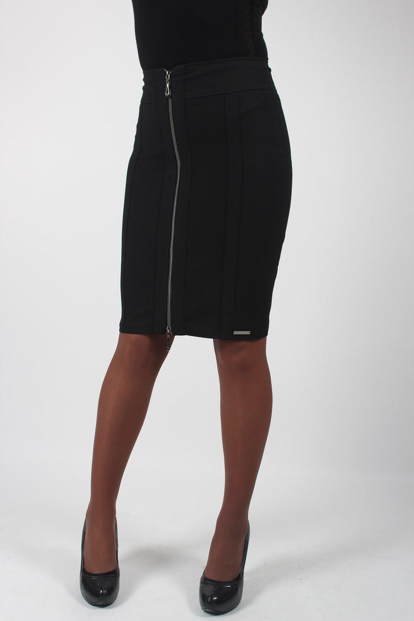 Классическая юбка с молнией