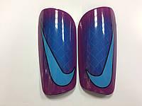 Щитки футбольные Nike сине-бордовые