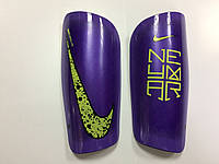 Щитки футбольные Nike Neymar фиолетовые