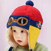 Детская шапка на флисе Авиатор Оптом