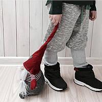 Двусторонние зимние штанишки с шачесом. Унисекс. Размеры: 86, 92 см, фото 1