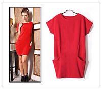 Платье туника Free Style 42, Коралл