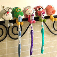 Держатель для зубной щетки на присоске детский Оптом