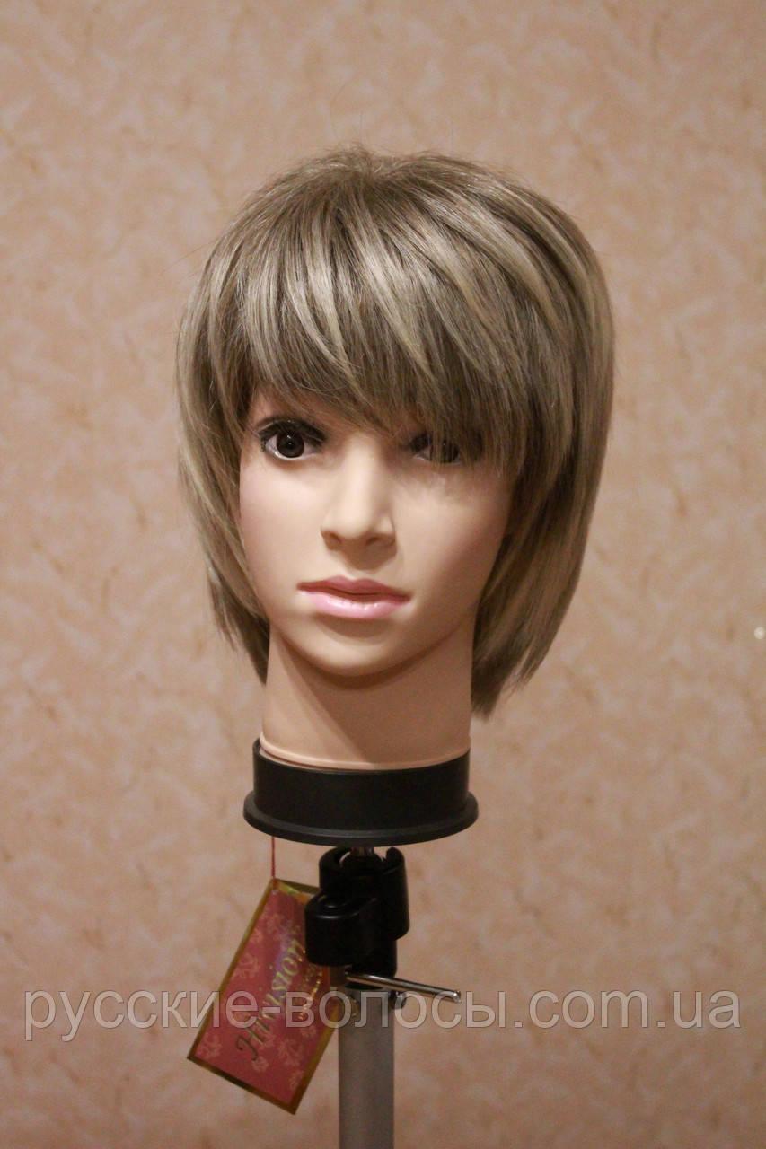 Новое поступление!!! Женский парик из натуральных волос. Русый.