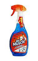 Средство для мытья стекол и поверхностей Мистер Мускул Профессионал со спиртом Триггер - 500 мл.