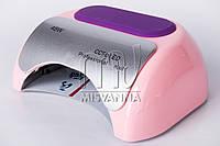 УФ LED+CCFL лампа для гель-лаков и геля 48W, Monroe Professional nail с таймером 10, 30 и 60 сек. (pink)