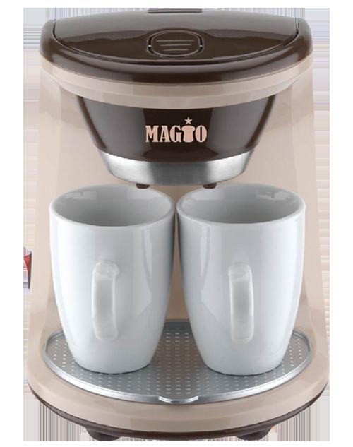 Кофеварка Magio MG-345 450Вт 2 чашки