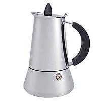Кофеварка гейзер 200мл Maestro MR 1668-4