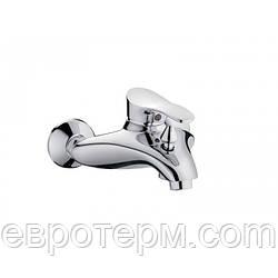Смеситель для ваннs короткий гусак с евро переключением Haiba Eris 009