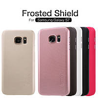 Чехол Nillkin Super Frosted Shield для Samsung G930F Galaxy S7 (+ пленка)